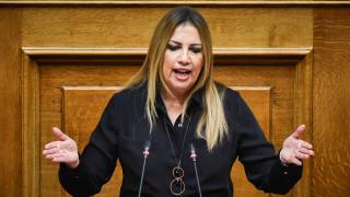 Γεννηματά: Απροετοίμαστος ο Τσίπρας στο τετ-α-τετ με τον Ερντογάν