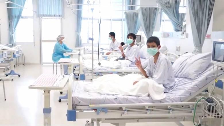 Σπήλαιο Ταϊλάνδη: Την ερχόμενη Πέμπτη θα βγουν από το νοσοκομείο τα 12 παιδιά