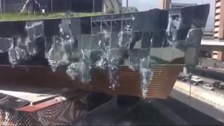 Απίστευτο βίντεο από κατάρρευση εμπορικού κέντρου στο Μεξικό