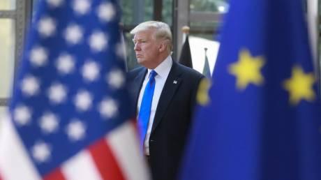 Ανεβαίνουν οι τόνοι στην αντιπαράθεση Τραμπ - Ευρωπαϊκής Ένωσης