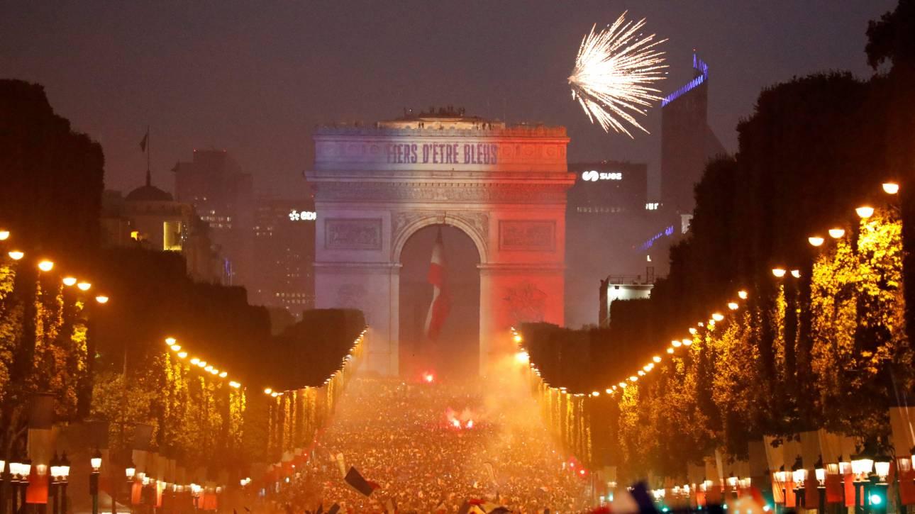 Γαλλία: Δύο νεκροί και εκτεταμένα επεισόδια στο περιθώριο των εορτασμών για το Μουντιάλ