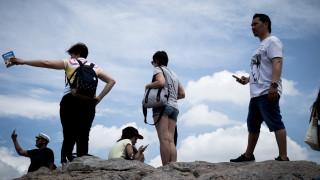 Αύξηση τουριστών και εισπράξεων για το α' τρίμηνο του 2018