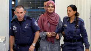 Ελεύθερη Τουρκάλα που είχε συλληφθεί στο Ισραήλ για παροχή βοήθειας στη Χαμάς
