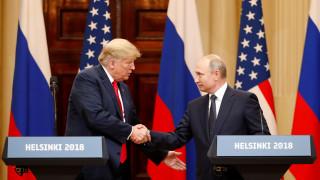Τραμπ: Η σχέση μας άλλαξε – Πούτιν: Νομίζω ότι τώρα καταλαβαίνουμε καλύτερα ο ένας τον άλλον