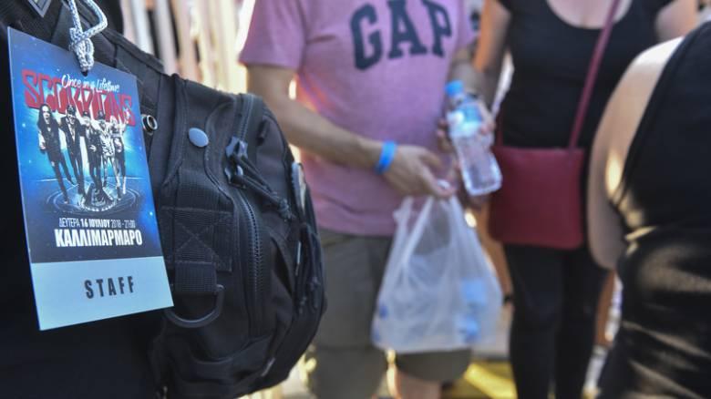 «Καλησπέρα Αθήνα»: Πλήθος κόσμου στο Καλλιμάρμαρο για τη συναυλία των Scorpions
