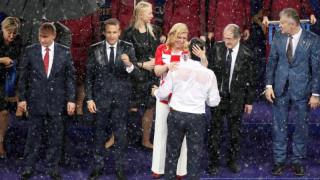 Κολίντα Γκράμπαρ-Κιτάροβιτς: Η πρόεδρος της Κροατίας ξεχώρισε στο Μουντιάλ