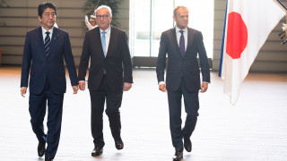 Ιστορική συμφωνία ελεύθερου εμπορίου Τόκιο και Βρυξελλών