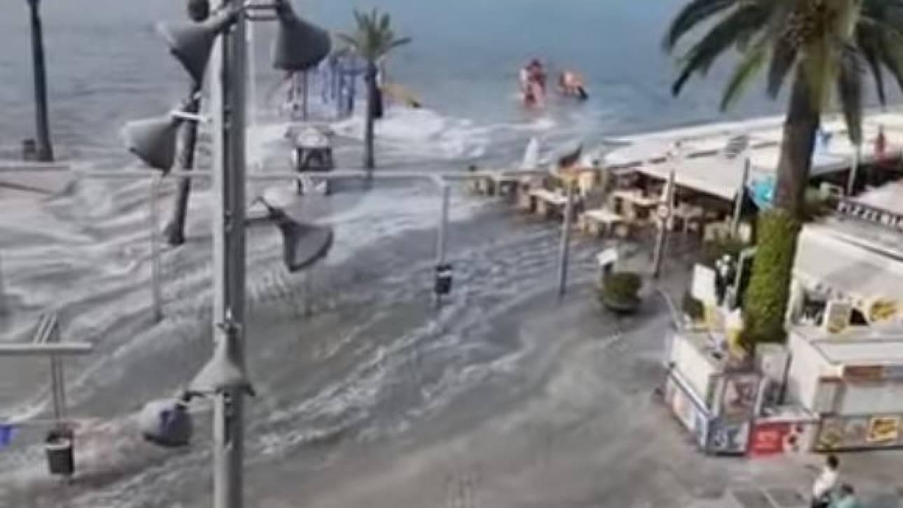 Ισπανία: Τσουνάμι 1,5 μέτρου «χτύπησε» παραλία της Μινόρκα