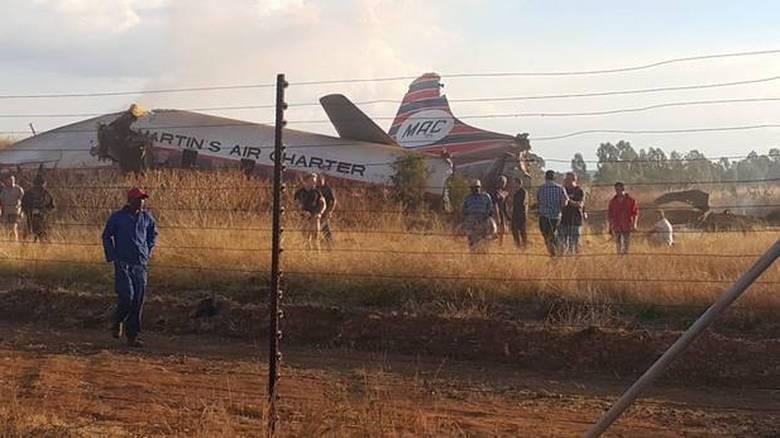 Νότια Αφρική: Συγκλονιστικό βίντεο μέσα από αεροσκάφος λίγο πριν τη συντριβή του