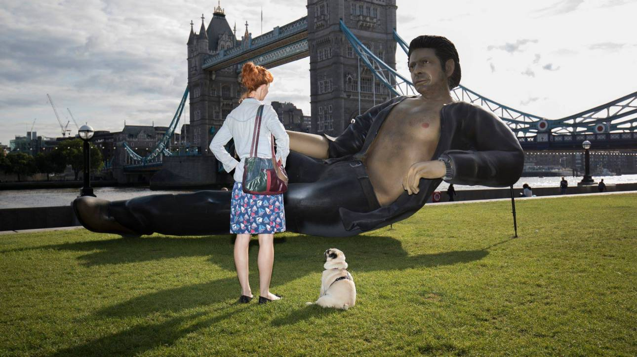 Jurassic Park 25: εορτασμοί με ένα γίγαντα Τζεφ Γκόλντμπλουμ στο Λονδίνο