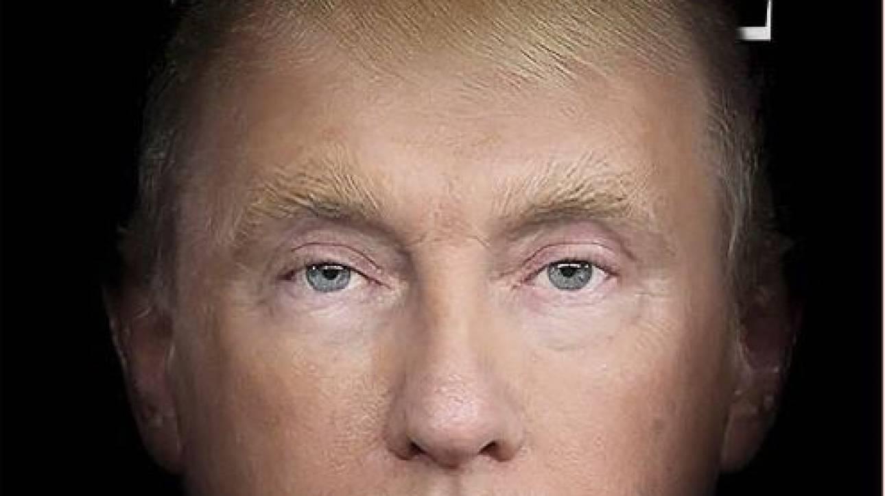 Στο νέο εξώφυλλο του Time, Τραμπ και Πούτιν γίνονται ένα