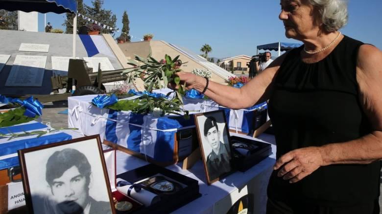 Κύπρος: Αποκαλυπτήρια του Νοράτλας προς τιμήν των νεκρών της συντριβής του 1974