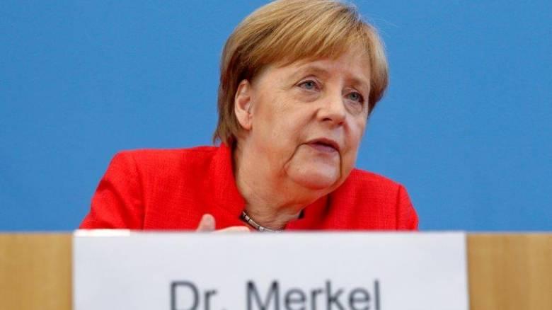 Μέρκελ: Κρίσιμης σημασίας η σχέση μας με τις ΗΠΑ