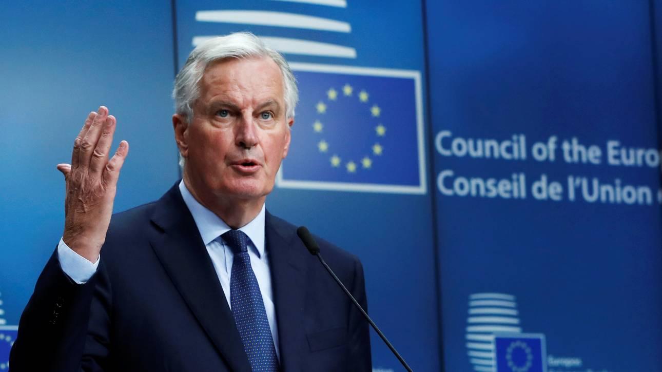 Μπαρνιέ: Σειρά θεμάτων εγείρει η Λευκή Βίβλος για το Brexit