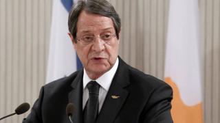 Ο Αναστασιάδης καλεί Τουρκία και Ακιντζί να λάβουν υπόψιν συνολικά τις παραμέτρους του Γκουτέρες