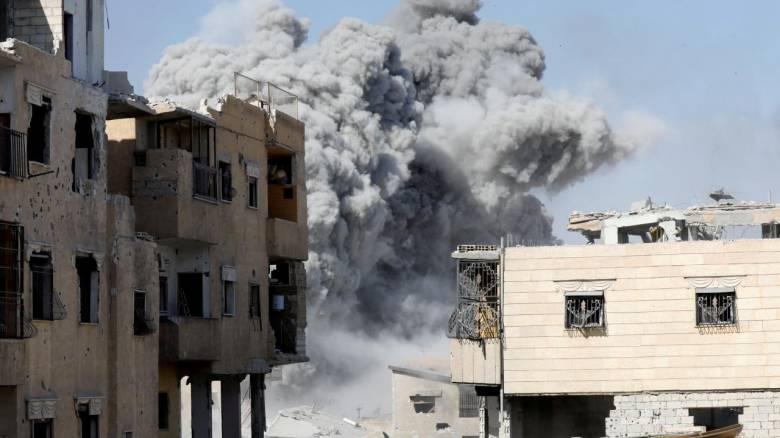 Συρία: 26 άμαχοι νεκροί από αεροπορικές επιδρομές εναντίον του Ισλαμικού Κράτους