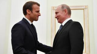 Τηλεφωνική επικοινωνία Πούτιν με Mακρόν με επίκεντρο την ανατολική Γκούτα