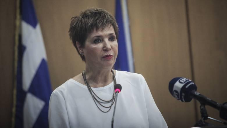Γεροβασίλη: Σήμερα η χώρα αναπνέει πάλι μόνη της