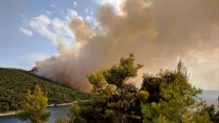Μεγάλη πυρκαγιά στη Σκόπελο