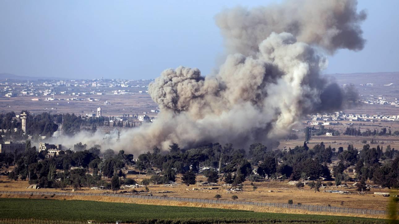 Στρατιωτικά πλήγματα από το Ισραήλ σε συριακά εδάφη