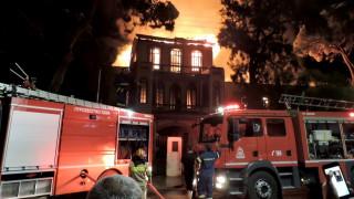 Ολοσχερής η καταστροφή του κτιρίου του Πολεμικού Μουσείου στα Χανιά