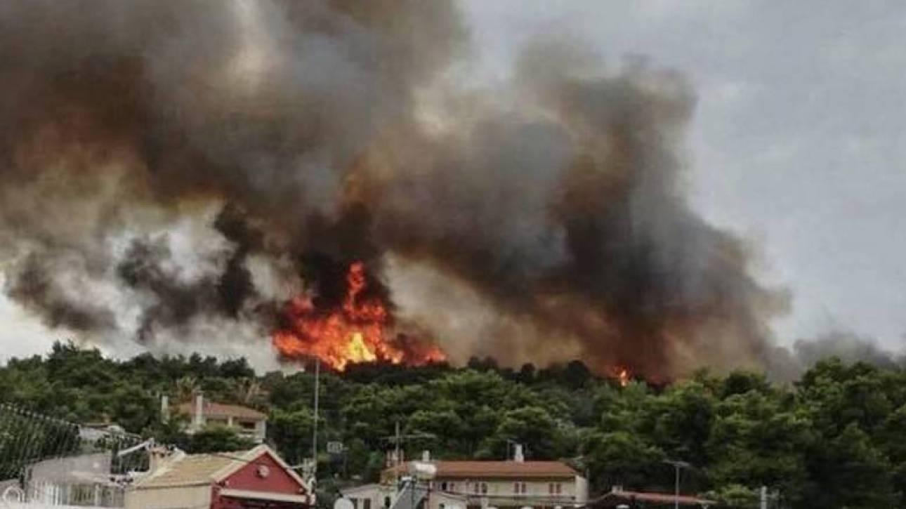 Φωτιά Κάλαμος: Κυκλοφοριακές ρυθμίσεις στους δρόμους