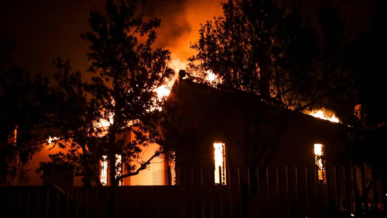 Αποτέλεσμα εικόνας για πυρκαγια στην αττικη