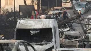 Εικόνες σοκ από τη Ραφήνα: Στάχτη σπίτια και αυτοκίνητα
