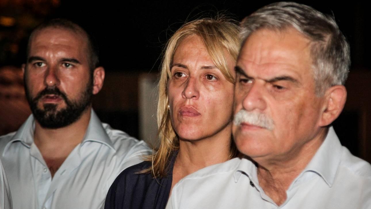 Τζανακόπουλος, Σκουρλέτης και Τόσκας στο Κέντρο Επιχειρήσεων της Πυροσβεστικής