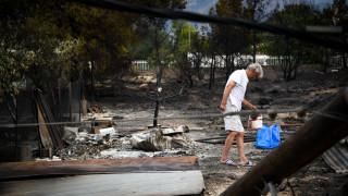 Φωτιά Αττική: Ενημέρωση για τη διανομή ειδών πρώτης ανάγκης στους πληγέντες