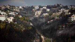 Φωτιά Αττική: Μικτές περιπολίες στις πληγείσες περιοχές για την προστασία των ιδιωτικών περιουσιών