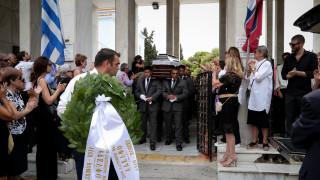 Το τελευταίο «αντίο» στον Μάνο Ελευθερίου