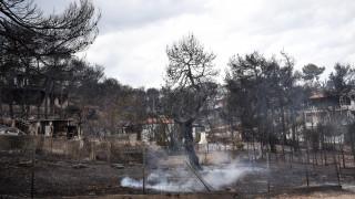 Φωτιά Αττική: Τα 120 χλμ/ώρα έφτασαν οι άνεμοι στην Αττική