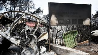 Φωτιά Αττική: Εκκενώνεται η κοινότητα Λεοντάρι στους Αγ. Θεοδώρους