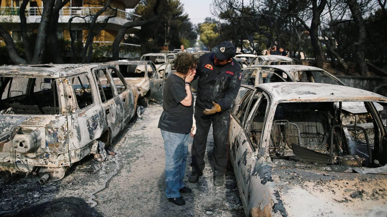 Η Ελλάδα ποτέ δεν πεθαίνει, οι Έλληνες όμως καίγονται ζωντανοί