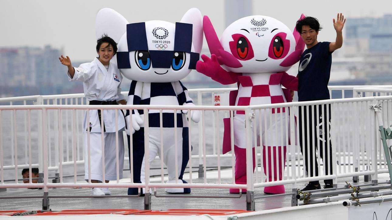 Tokyo 2020: στα βαφτίσια των πιο γλυκών μασκότ των Ολυμπιακών του Τόκιο (pics & vid)