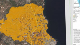 Δορυφορικές εικόνες της καταστροφής - Στάχτη πάνω από 12.500 στρέμματα γης