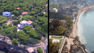 Πριν και μετά: Το μέγεθος του ολέθρου στο Μάτι μέσα από ένα συγκλονιστικό drone βίντεο
