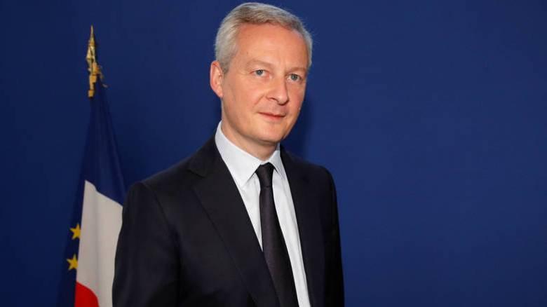 Στην Αθήνα το Σεπτέμβριο ο Γάλλος υπουργός Οικονομικών
