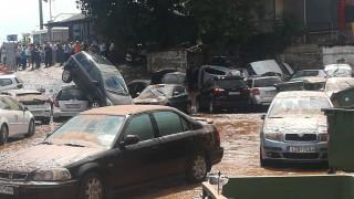 Συγκλονιστικές εικόνες: Πλημμύρισαν Μαρούσι, Βριλήσσια, Κηφισιά
