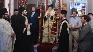 Τρισάγιο για τα θύματα των φονικών πυρκαγιών τέλεσε ο Οικουμενικός Πατριάρχης