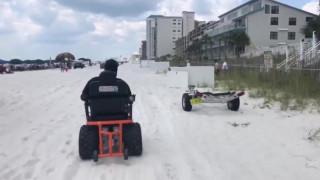 36χρονος με εγκεφαλική παράλυση έκανε ένα όνειρο πραγματικότητα, είδε τον ωκεανό!