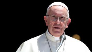 Μήνυμα συμπαράστασης από τον Πάπα Φραγκίσκο για τις πυρκαγιές στην Αττική
