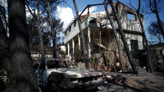 Φωτιά Αττική: «Στάχτη» έγιναν τουλάχιστον 998 σπίτια