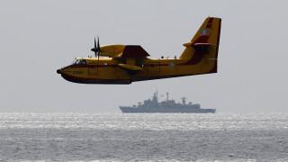 Πυρκαγιά Αττική: Ο πύρινος εφιάλτης από το ελικόπτερο της Πυροσβεστικής (vid)