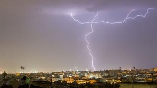Έκτακτο δελτίο επιδείνωσης καιρού: Έρχονται βροχές, καταιγίδες, χαλάζι και θυελλώδεις άνεμοι