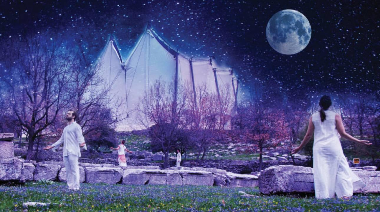 Από το σκοτάδι στο φως της πανσελήνου: ο ναός του Επικούριου Απόλλωνα έλαμψε ξανά