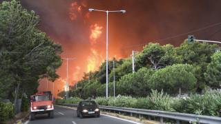 Φωτιές στην Αττική: Το σπάνιο φαινόμενο που προκάλεσε την τραγωδία