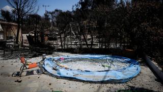 Φωτιά Μάτι: Συγκλονιστικές φωτογραφίες από τα καμένα σπίτια