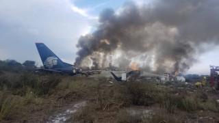 Μεξικό: 85 τραυματίες από τη συντριβή αεροσκάφους